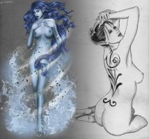 Gaia, Mother Earth - AT with Le-Papillon-57 by DameOdessa