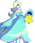 A very quick Rosalina by TheGalacticKat