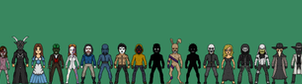 Creepypasta Micro Heroes The Road So Far by MrEtsam