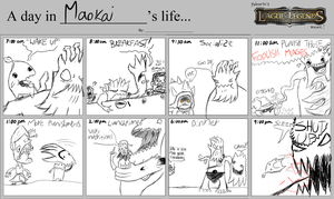 A day in Maokai's Life. Kinda. by misterPlata