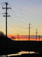 Power and Sunset by AFL