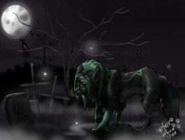 Patroling the Graves by PinkScooby54