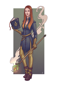 Sorceress by Rvannith
