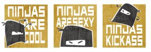 Ninjas are teh coolest by Cabycab