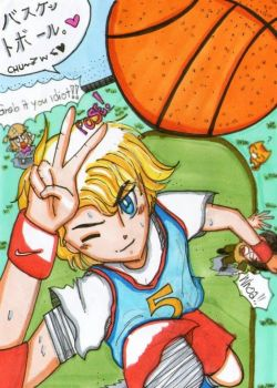 Just get that ball, baka!! by Kanivah