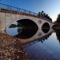 Olympic Rings - Penrith by FireflyPhotosAust