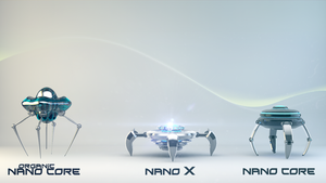 Nano Cores types by mixlou