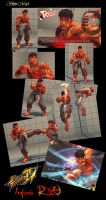 Street Fighter IV Inferis RYU by Ex-Inferis-Br