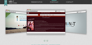 Min-T Website Online #PortFolio by olafviking