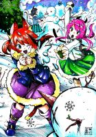 Neko Snowfight by EUDETENIS