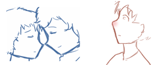 Sherlock - Doodle- Before and after by Granjolras