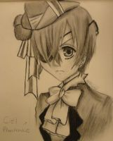 Ciel Phantomhive (drawing) by Awesome-Vivi