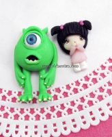 Monsters inc by AlchemianShop