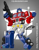 TFG1: OPTIMUS PRIME aka CONVOY by 11J