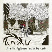 A is for Applebloom by Fetchbeer