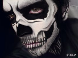 SKELETON FACE by KsPeR