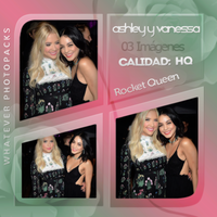 Photopack 0570 - Ashley Benson And Vanessa Hudgens by WhateverPhotopackss
