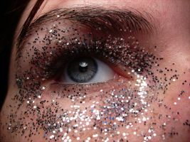 Glitter Eye 1 by music-lover-stock