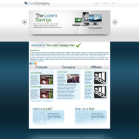 Company Web Template by KustomzGraphics