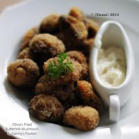 Olivio's Fried Buttermilk Mushroom by viennidemizerable