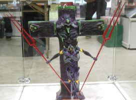 EVA-13 and Crucifixion Figurine by rlkitterman