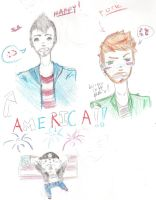 AMERICA, FUCK YEAH. by Lalune-hime