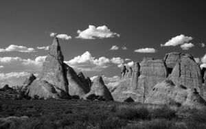 Rock Fins II BW by elektronika7