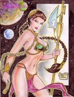SLAVE PRINCESS LEIA by RODEL MARTIN (06062014) by rodelsm21