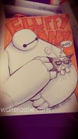Baymax and Grumpy by Walter-Ostlie