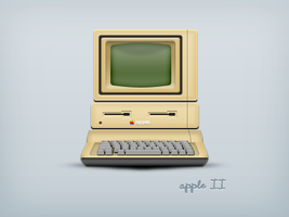 Apple II by luisperu9