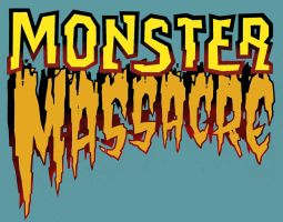 MONSTER MASSACRE logo revised by DeevElliott