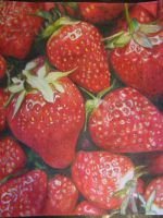 Strawberry Prismacolor by schnellzz