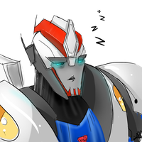 Smokescreen tired by Ask-TFP-Smokescreen