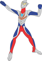 Ultraman Tiga by Daizua123