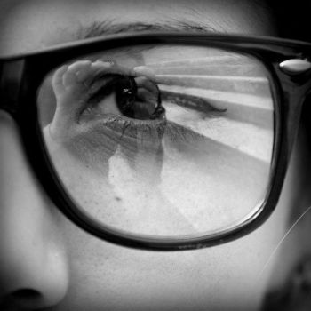 Squared Eye and Self-Portrait by Window-Of-Perception