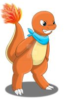 Levi The Charmander by Zander-The-Artist