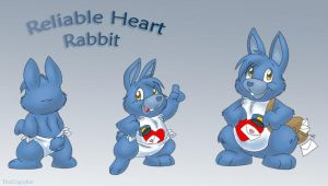 Reliable Heart Rabbit by ThisCrispyKat