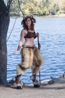 Satyress by the Lake by Stormfalcon
