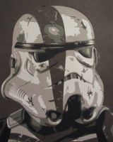Storm Trooper Commander by Papergizmo