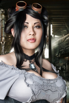 Ivy Doomkitty steampunk by Rigozoolook