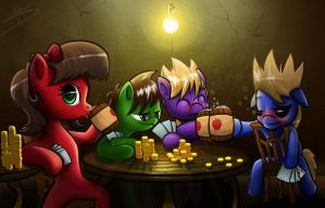 Eddsworld Ponies by MakingPicsSlowly