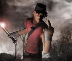 Team Fortress 2: Fear the Scout by SovietMentality