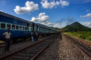 Indian Railway by ThauChengCha