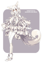 [GACHA] Adoptable: Monochrome XIII by Staccatos