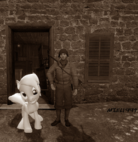 Derpy goes back in time: WWII by Miel1994