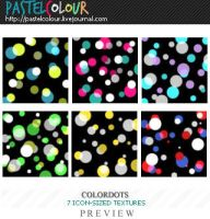 Color Dots Textures by shirirul0ve