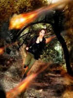 Katniss Everdeen by jenabhone