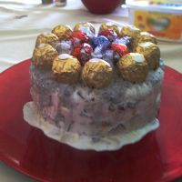 how-to: easter ice cream cake by zoeil
