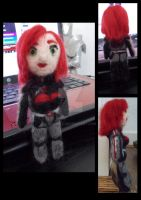 Needle Felted Mini Femshep by Madisya