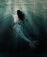 mermaid. by daChelissius